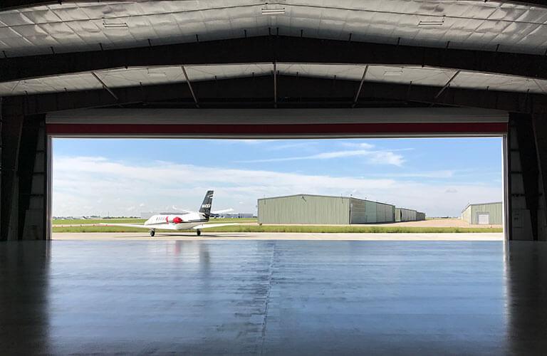 Aviation Hangar Door