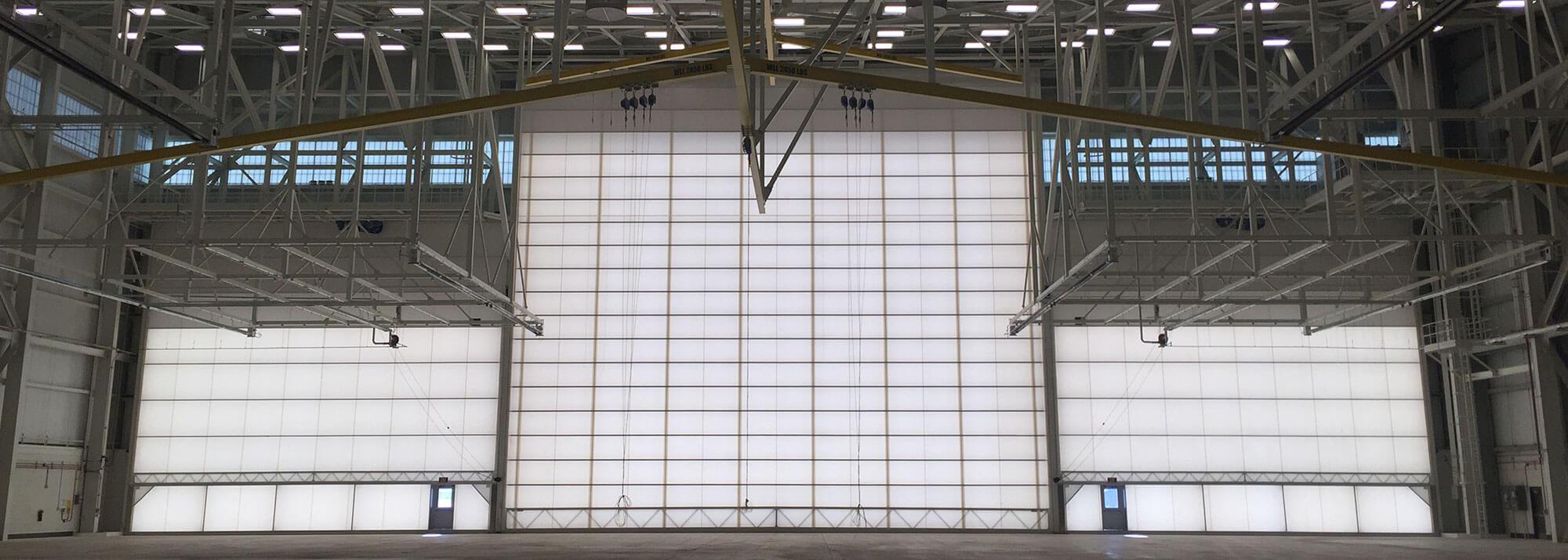 Overhead Hangar Doors